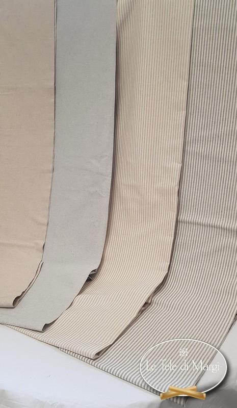Telo Granfoulard copritutto Millerighe grigio 260 x 280
