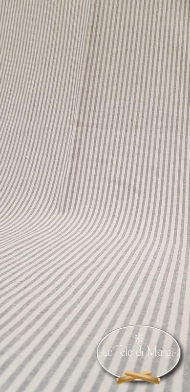 Telo Granfoulard copritutto Millerighe grigio 280 x 360