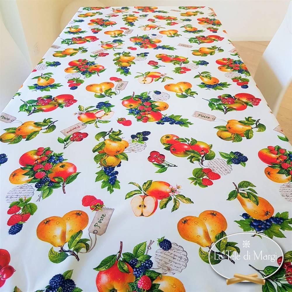 Tovaglia antimacchia Frutta 150 x 150