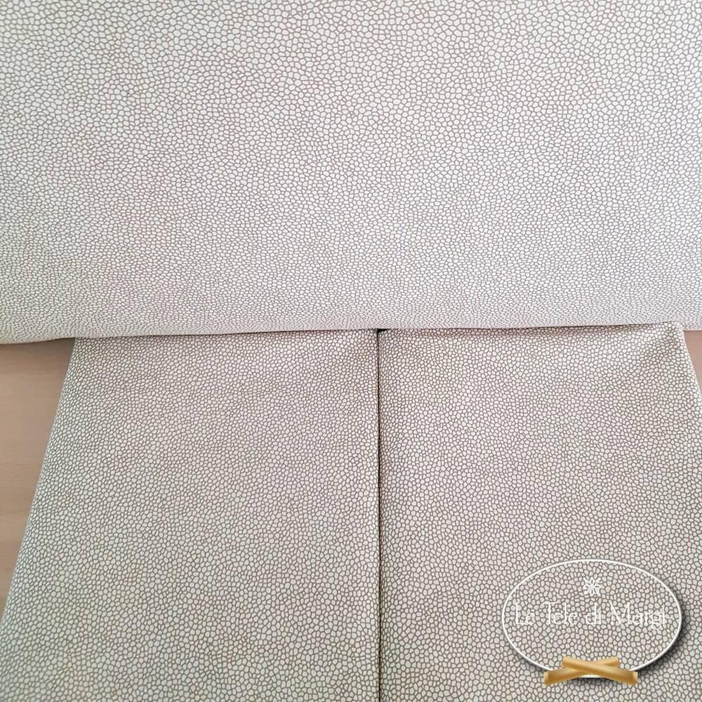 Completo Lenzuola Borbonese beige piazza e mezzo