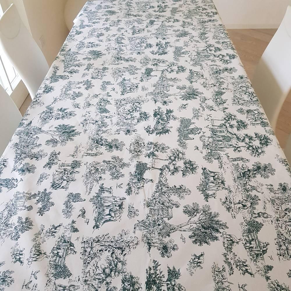 Tovaglia toile de joie verde 140 X 180