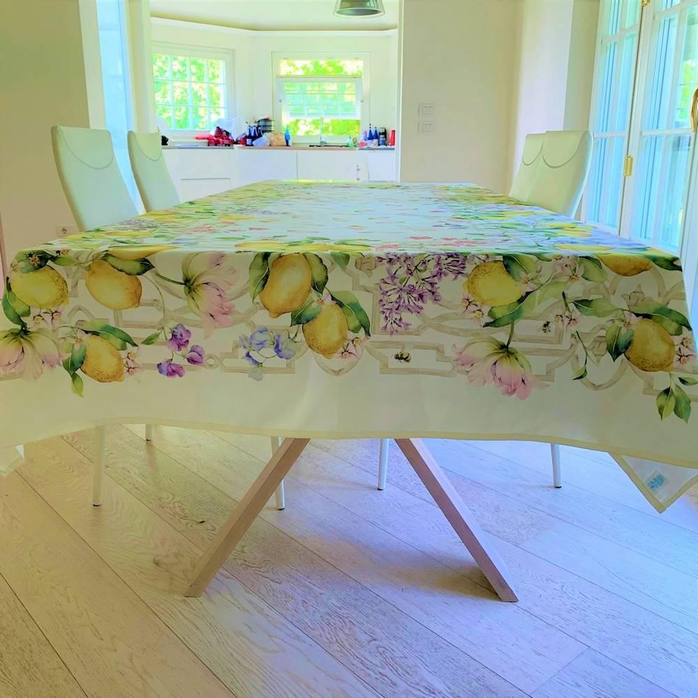 Tovaglia Limoni stampa digitale 140 x 180