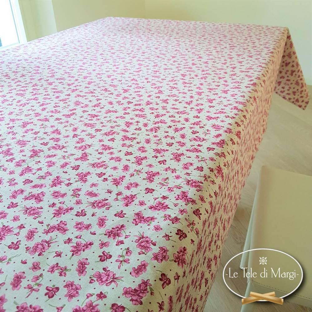 Tovaglia Violette rosa 140 x 240