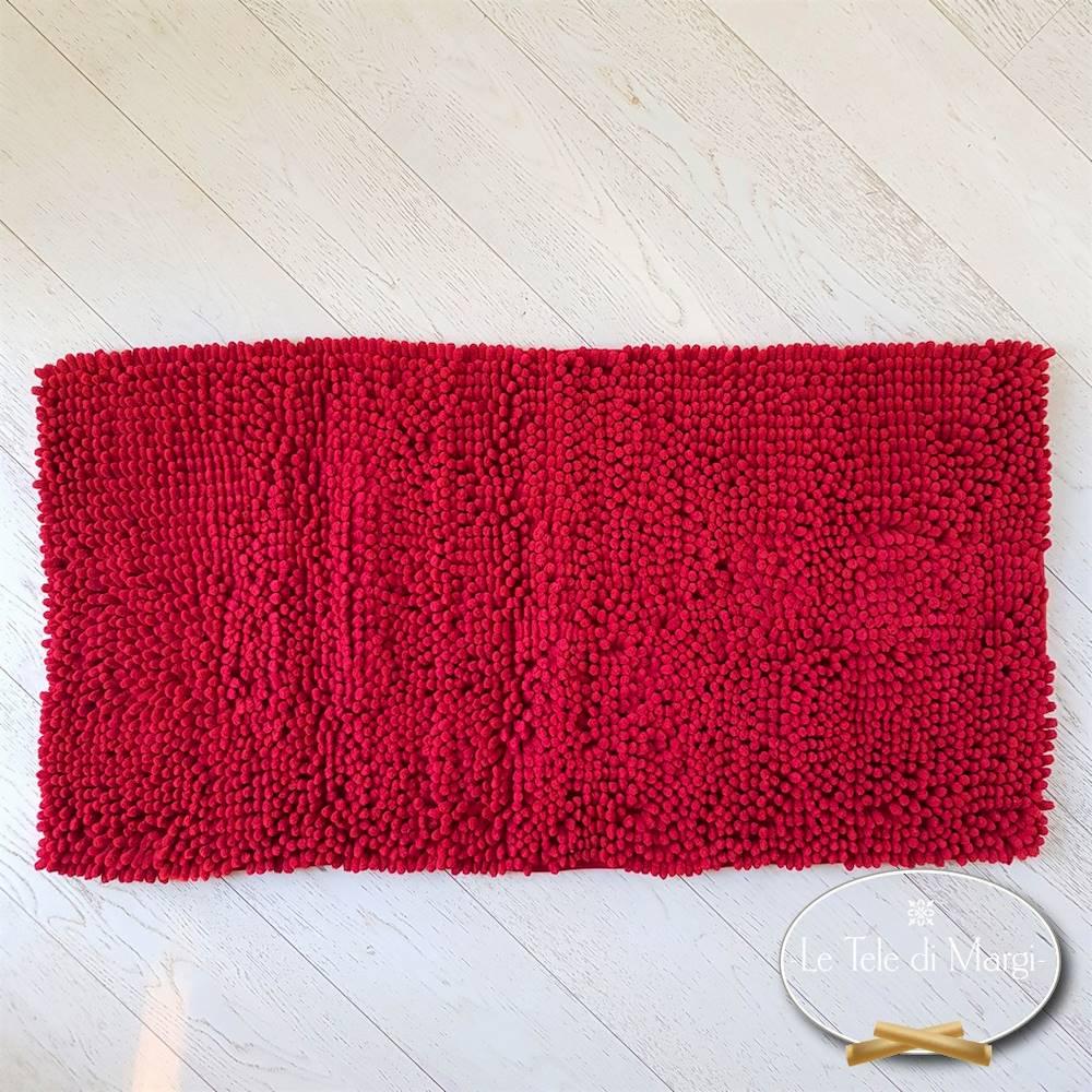 Tappeto antiscivolo passatello rosso 60 x 120