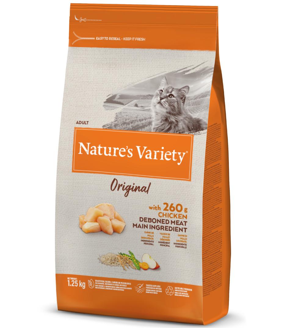 Nature's Variety - Original Cat - Adult - Pollo - 1.25 kg