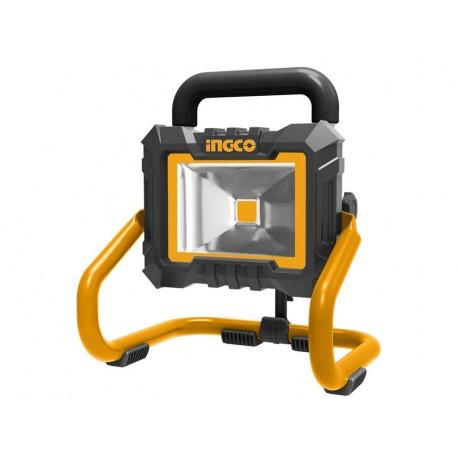 Faretto LED 20W Batteria Litio 20V Nudo INGCO