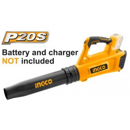 Soffiatore 20V Batteria al Litio - Nudo INGCO