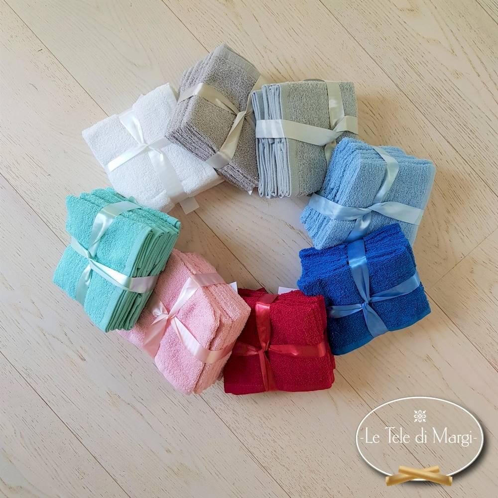 Set 6 lavette colorate