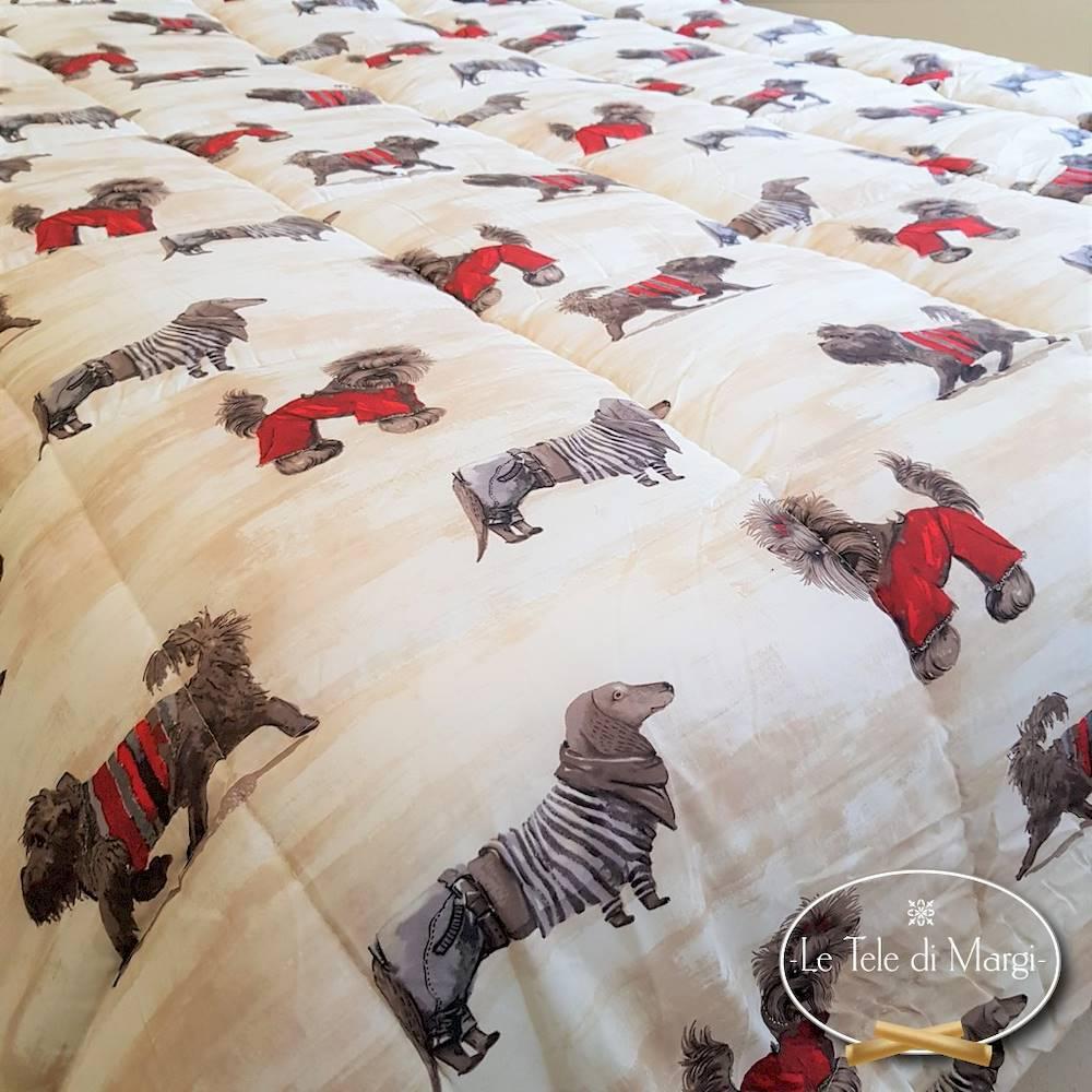 Trapunta English Dogs