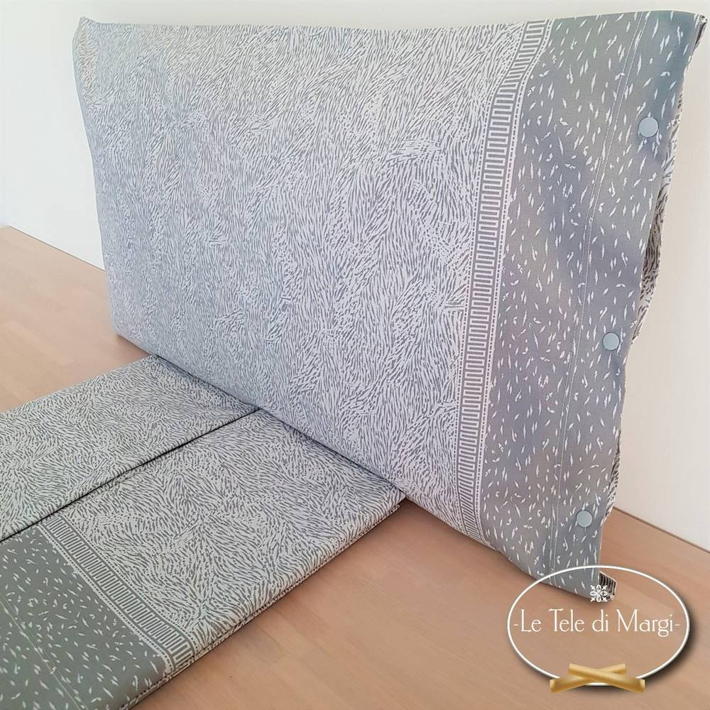 Completo Lenzuola Microanimaliè grigio