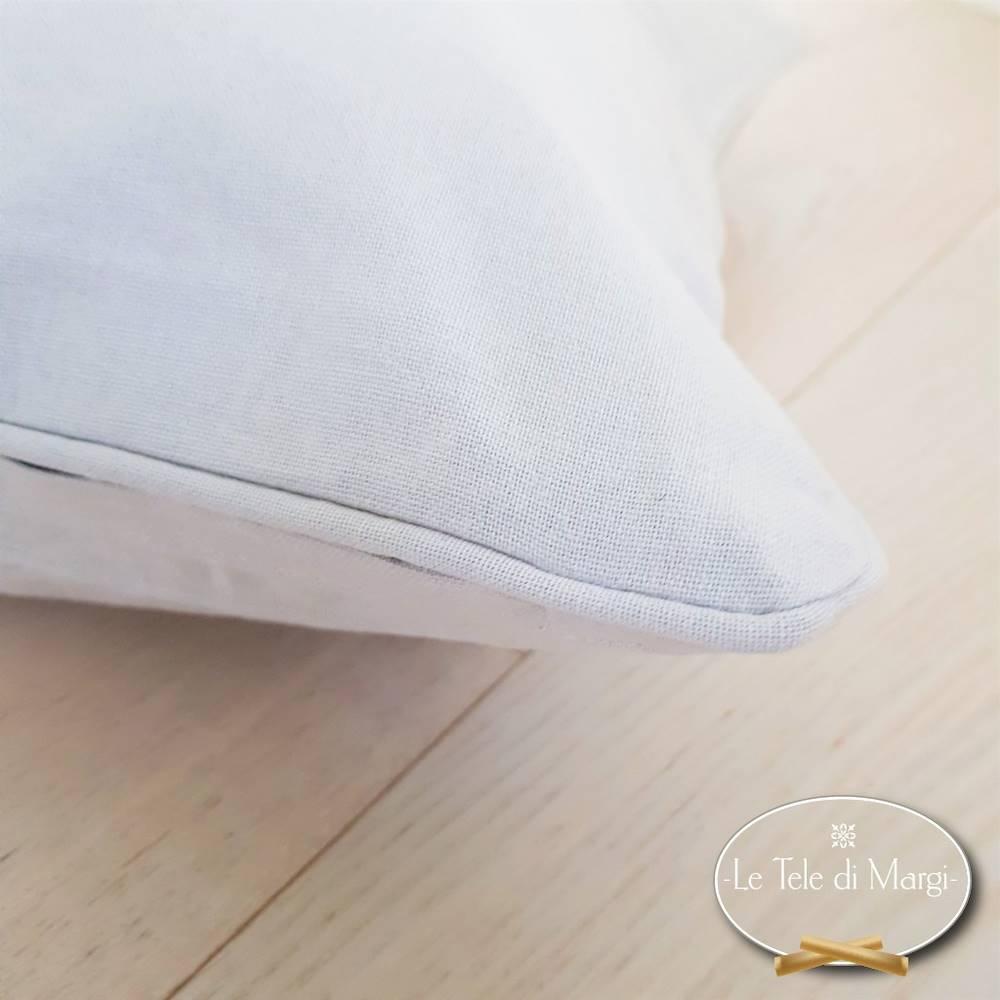 Fodera cuscino tinta unita Grigio chiaro