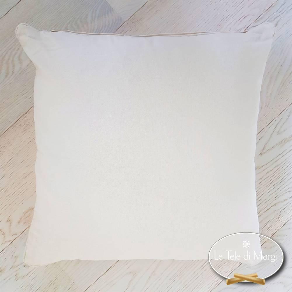 Fodera cuscino tinta unita Panna