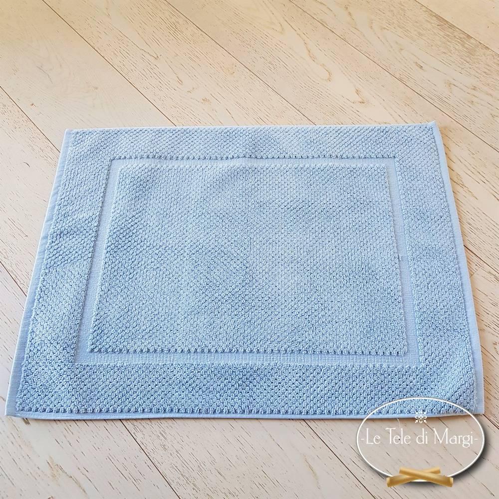 Tappeto Chicco di riso azzurro