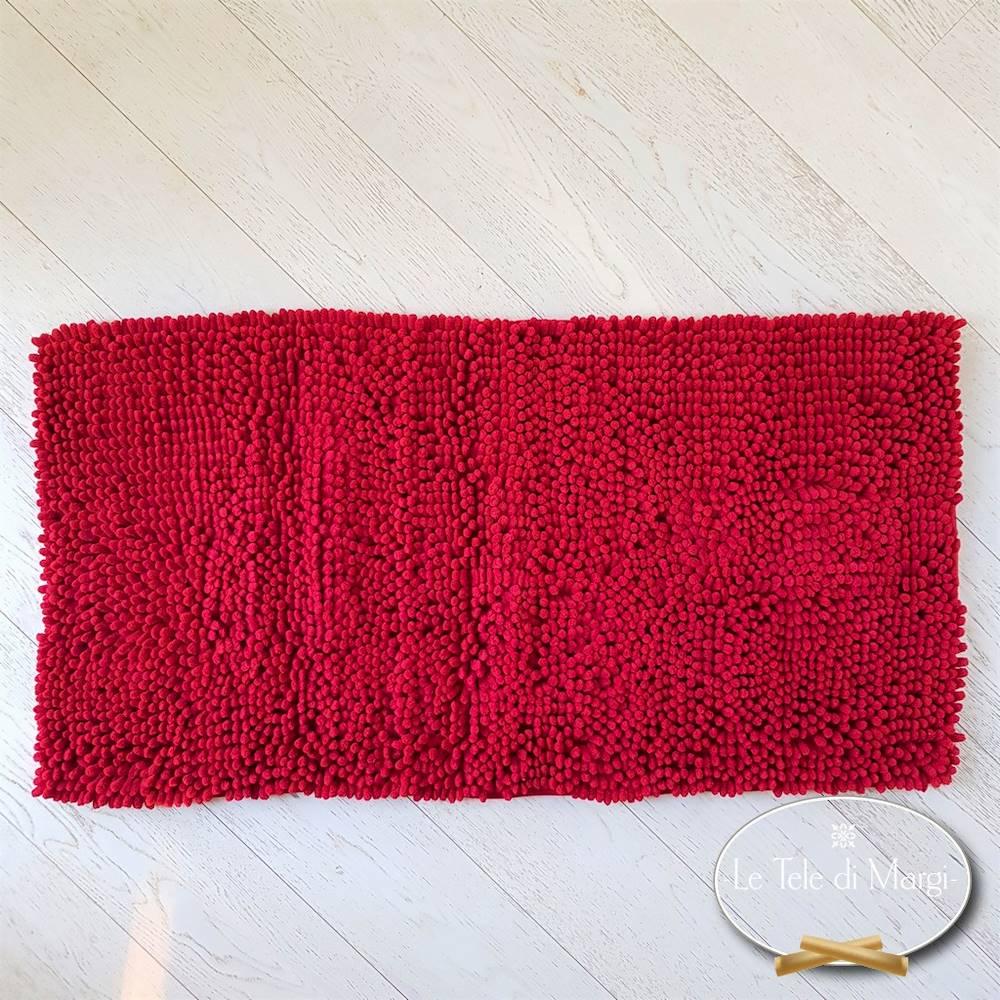 Tappeto antiscivolo passatello rosso 50 x 80