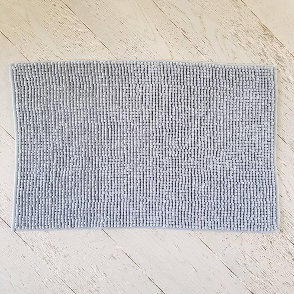 Tappeto antiscivolo Soffy grigio 50 x 80
