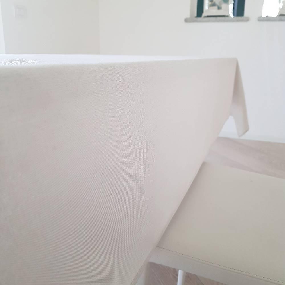 Tovaglia antimacchia effetto lino naturale 140 x 240