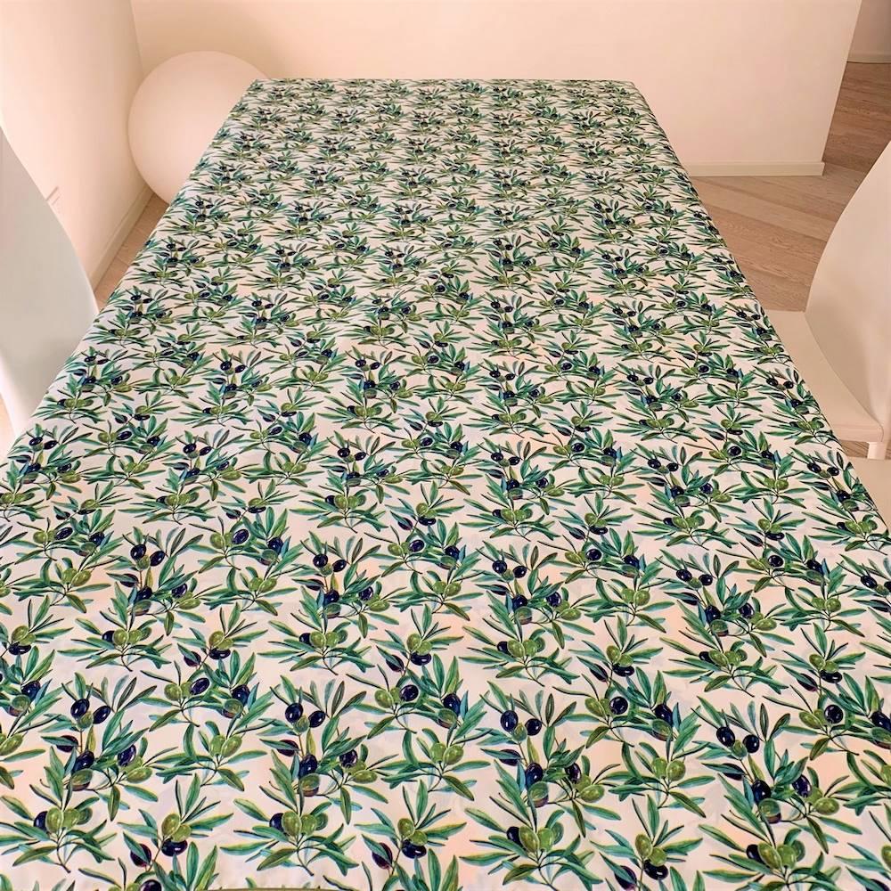 Tovaglia antimacchia Olive 140 x 180