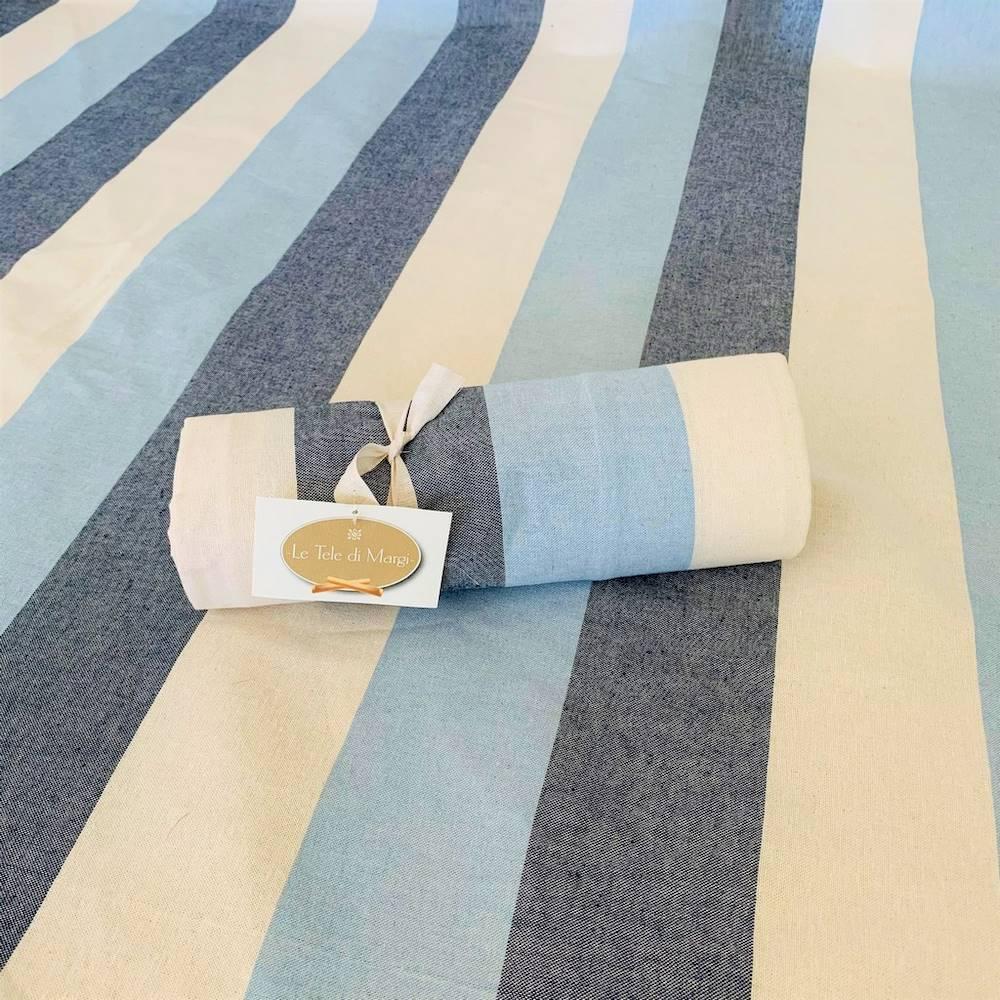 Telo Granfoulard copritutto Sfumato blu 260 x 280