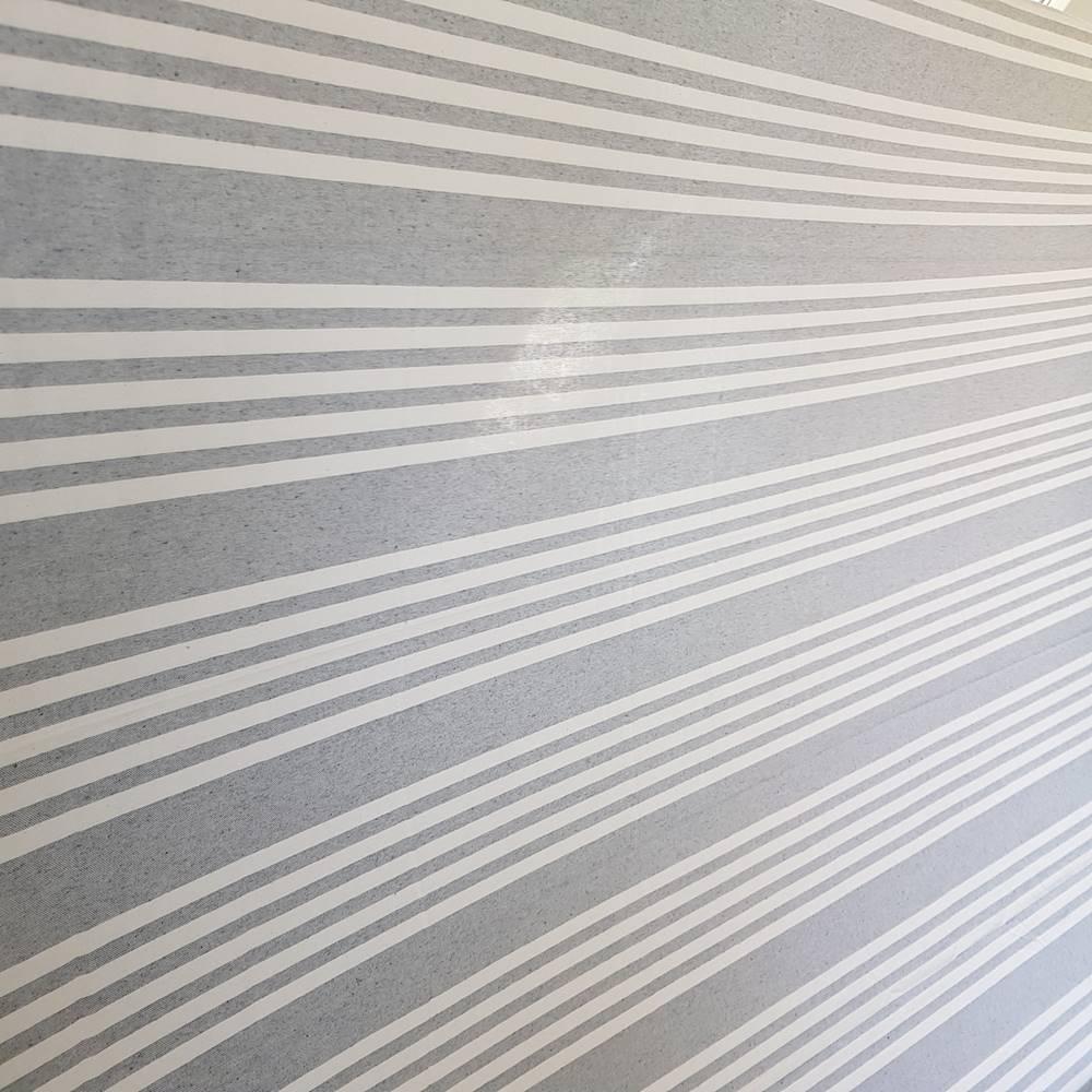 Telo Granfoulard copritutto Quattro righe grigio 260 x 280