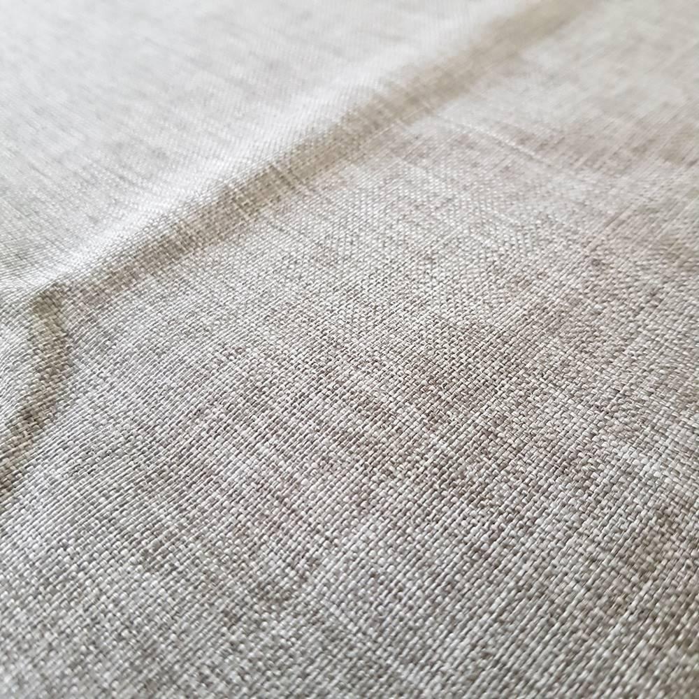 Tovaglia antimacchia effetto lino grigia 140 x 180