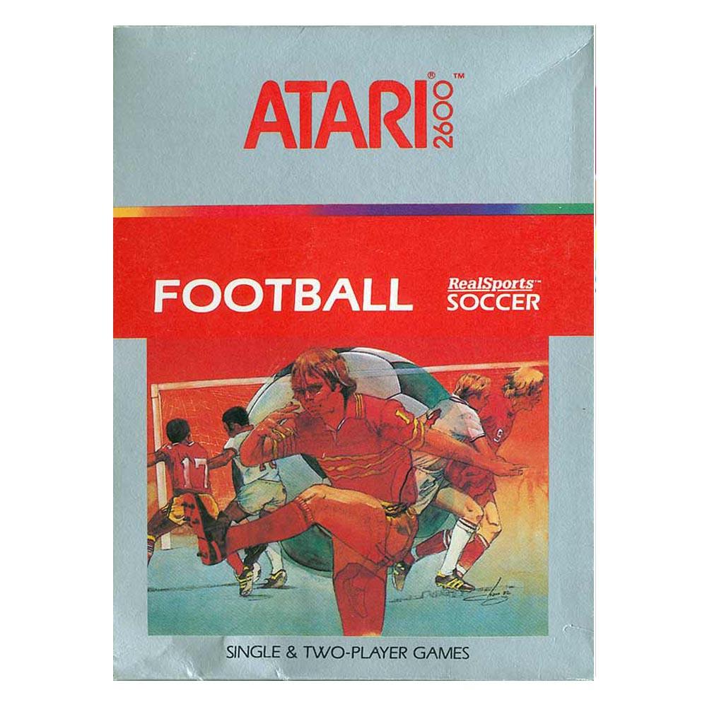Football RealSports Soccer - ATARI 2600