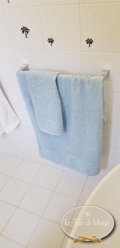 Asciugamani Arabesque Azzurro