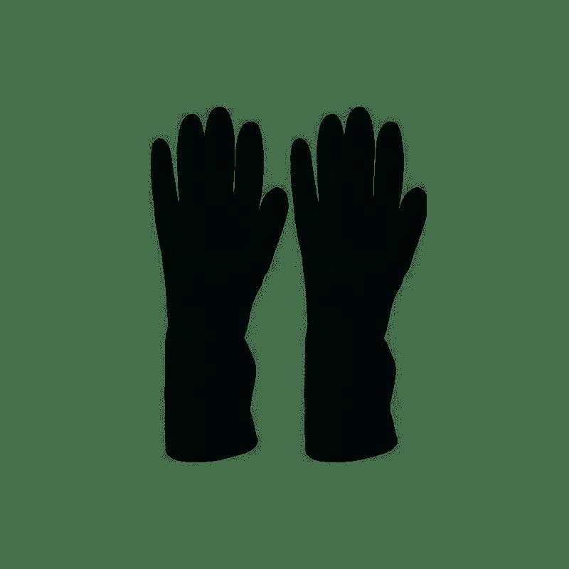 Guanti in Neoprene colore Nero Taglia L/XL