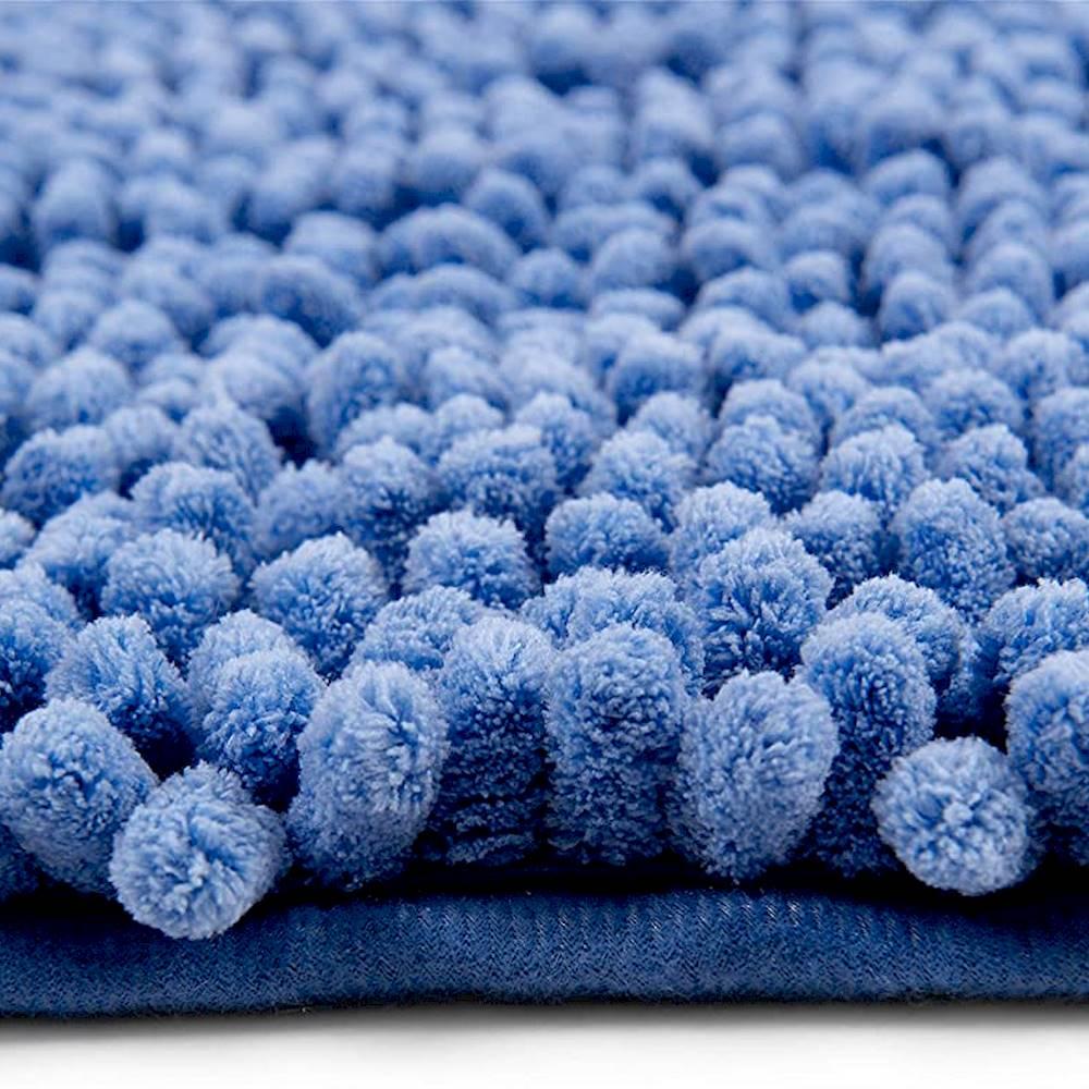 Tappeto antiscivolo passatello azzurro 60 x 120