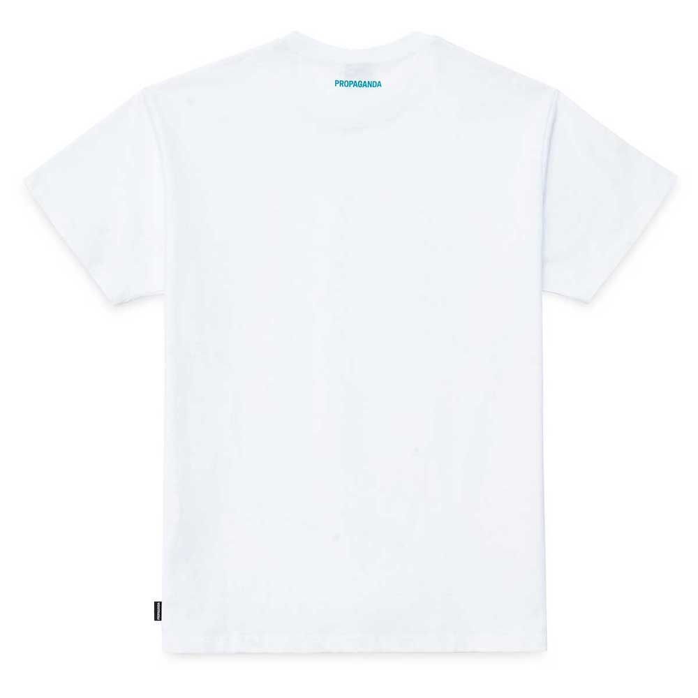 PROPAGANDA Tee Logo Acqua White