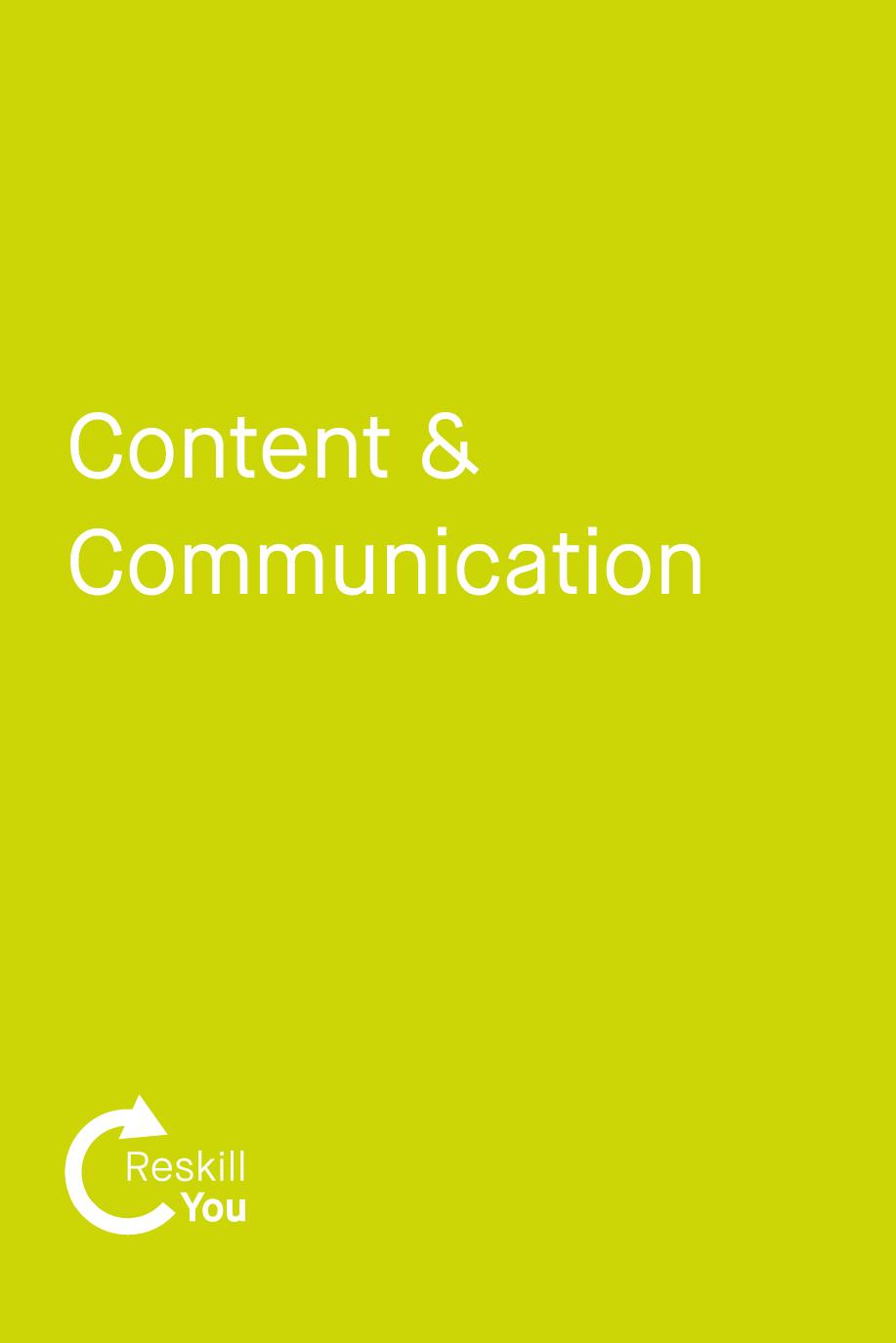 Content & Communication Management
