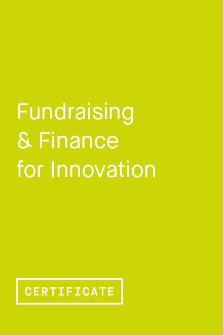 Fundraising & Finance for Innovation