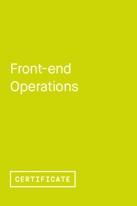 Front-end Operations