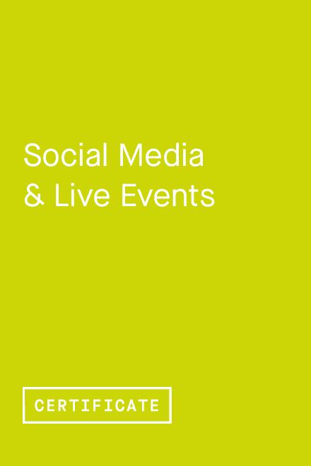 Social Media & Live Events