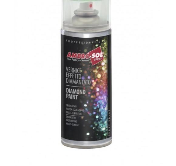 Smalto Acrilico Spray Multiuso 400ML Ambrosol Rosso Diamantato