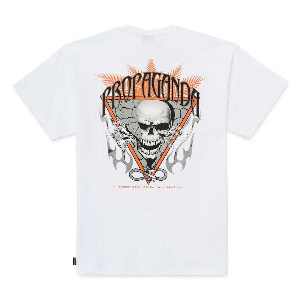 PROPAGANDA Tee Skeleton White