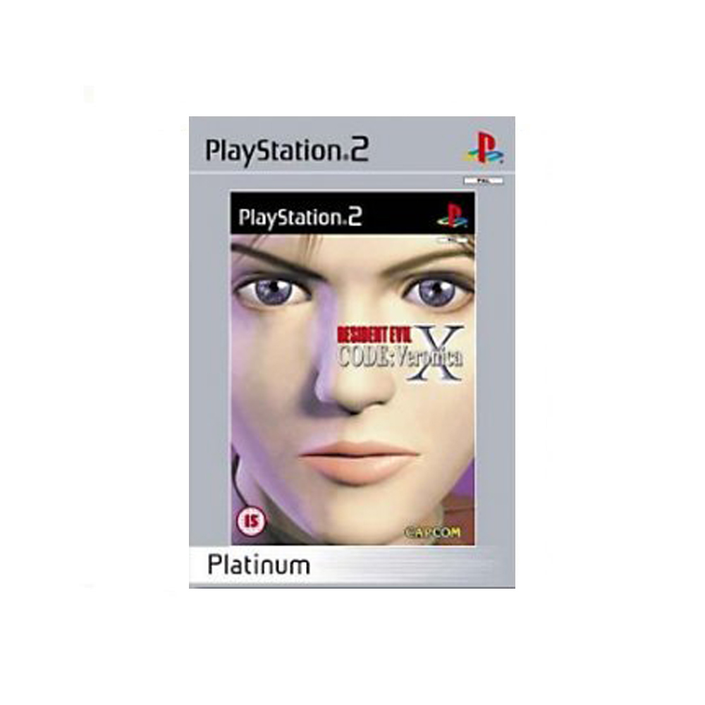 Resident Evil Code: Veronica X - usato - Platinum - PS2