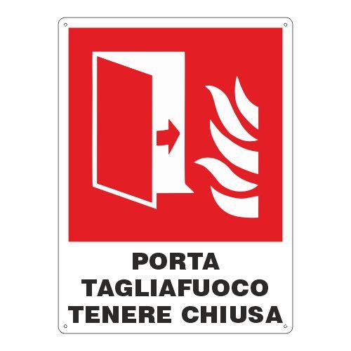 Segnaletica codice prevenzione incendi