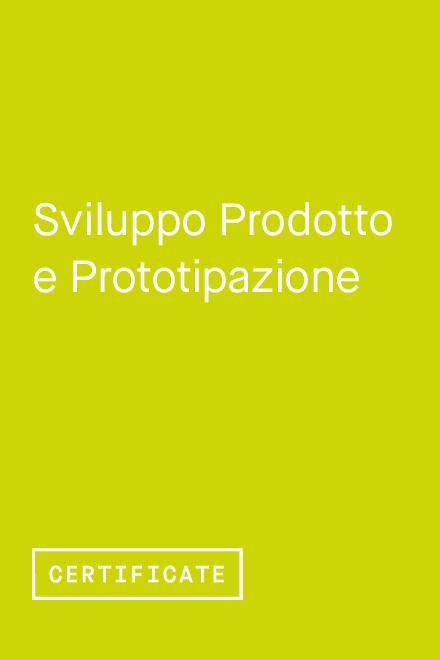 Sviluppo Prodotto e Prototipazione