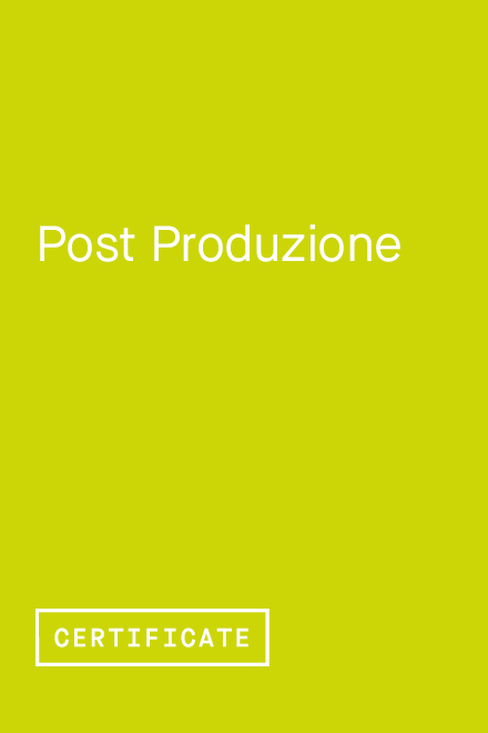 Post Produzione