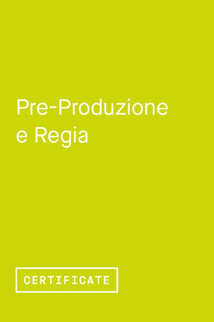 Pre-produzione e Regia