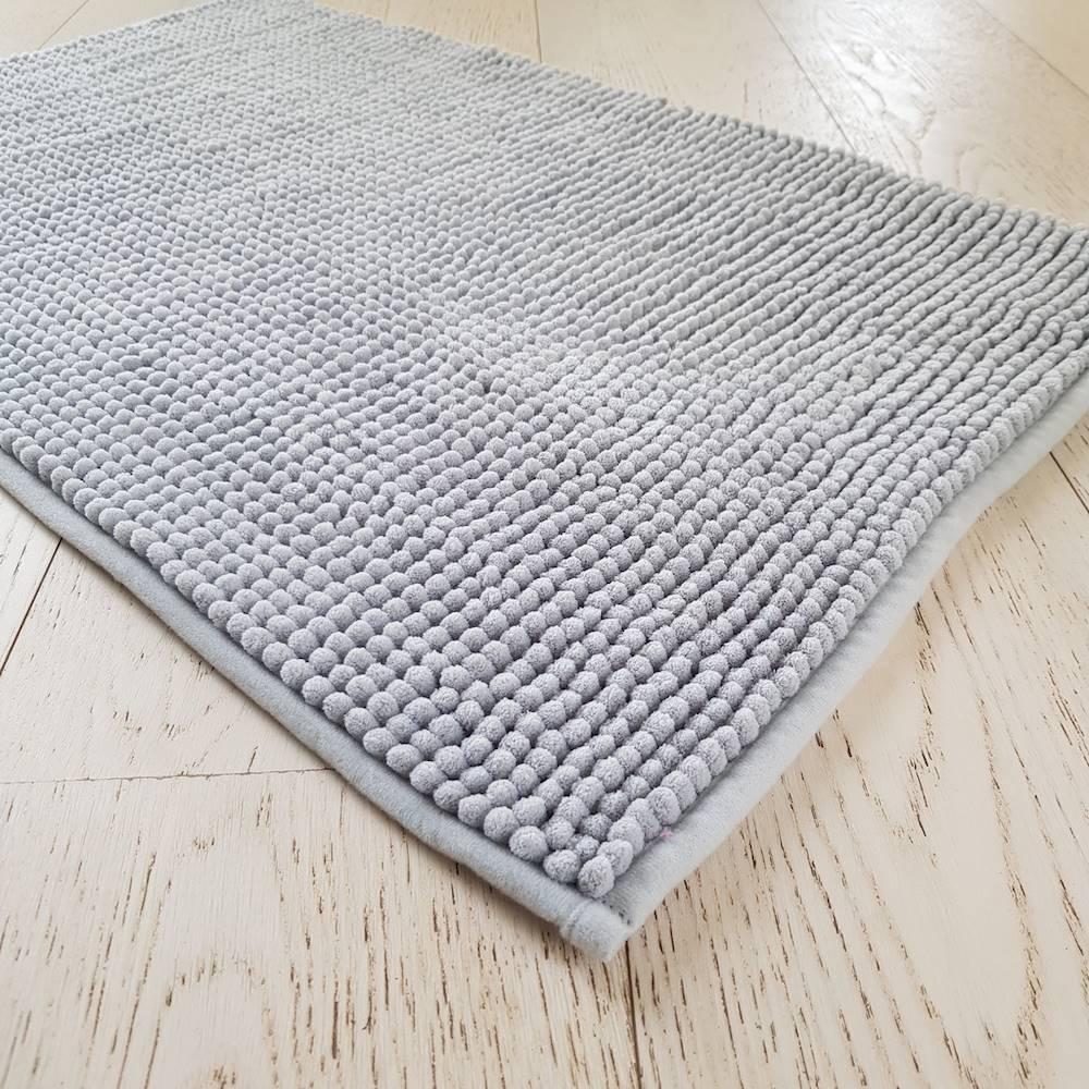 Tappeto antiscivolo Soffy grigio 60 x 110