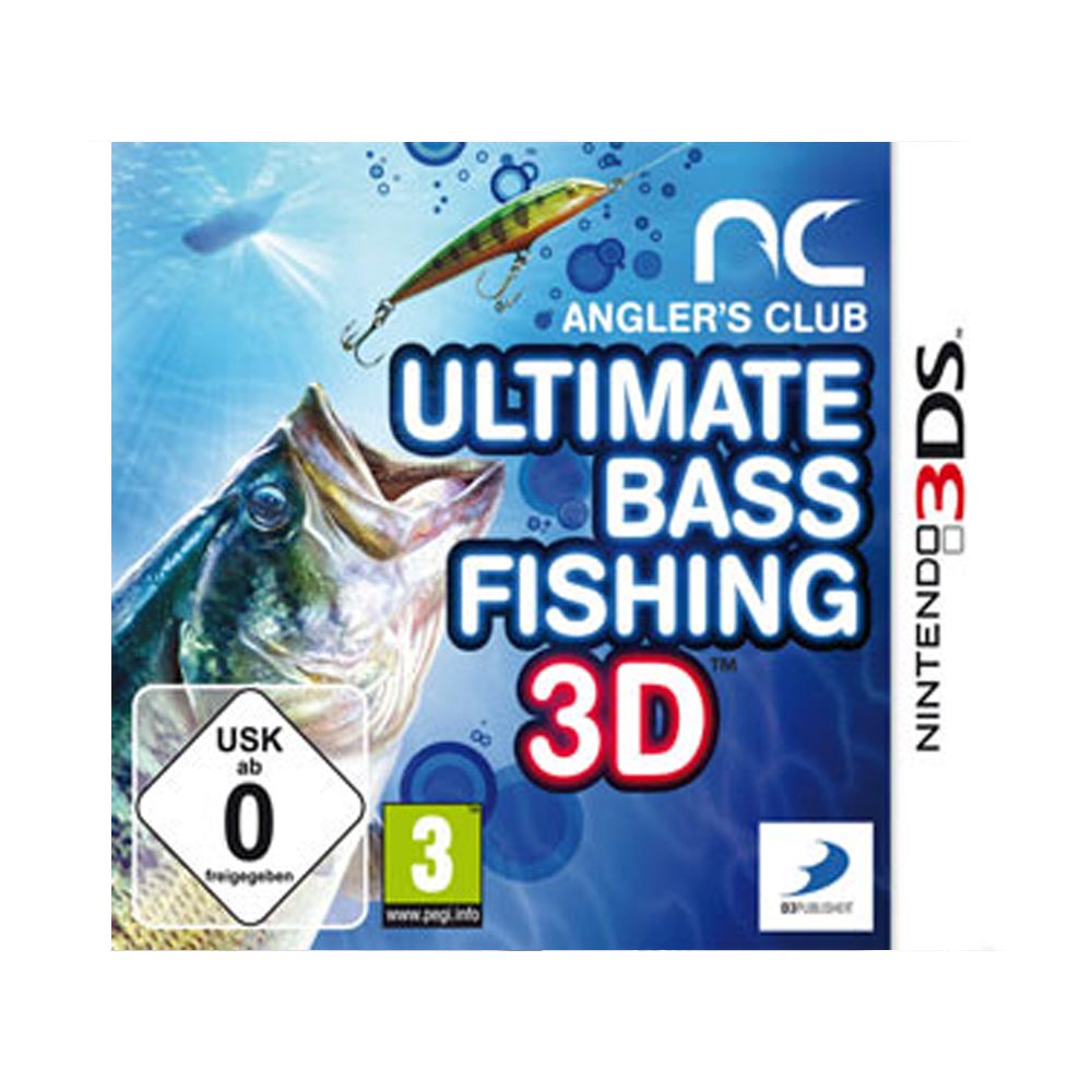 Angler's Club:Ultimate Bass Fishing 3D - usato - 3DS
