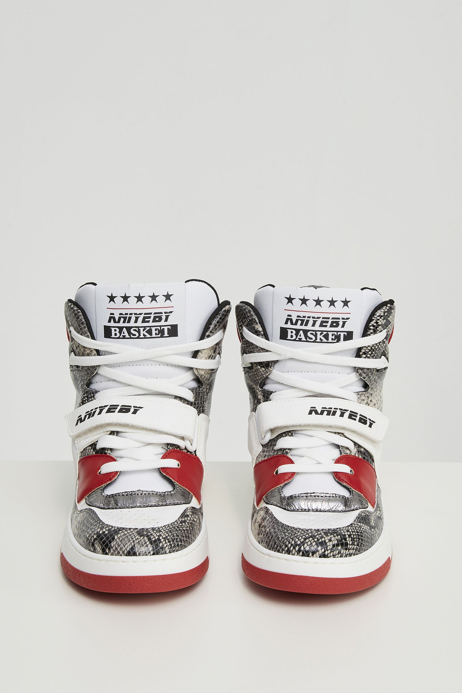Sneakers Basket piton red Aniye By