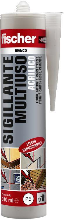 Sigillante Multiuso Acrilico FISCHER 310ml