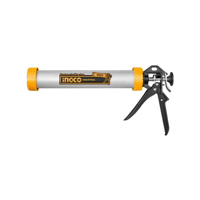 Pistola per Silicone in Alluminio 308mm INGCO