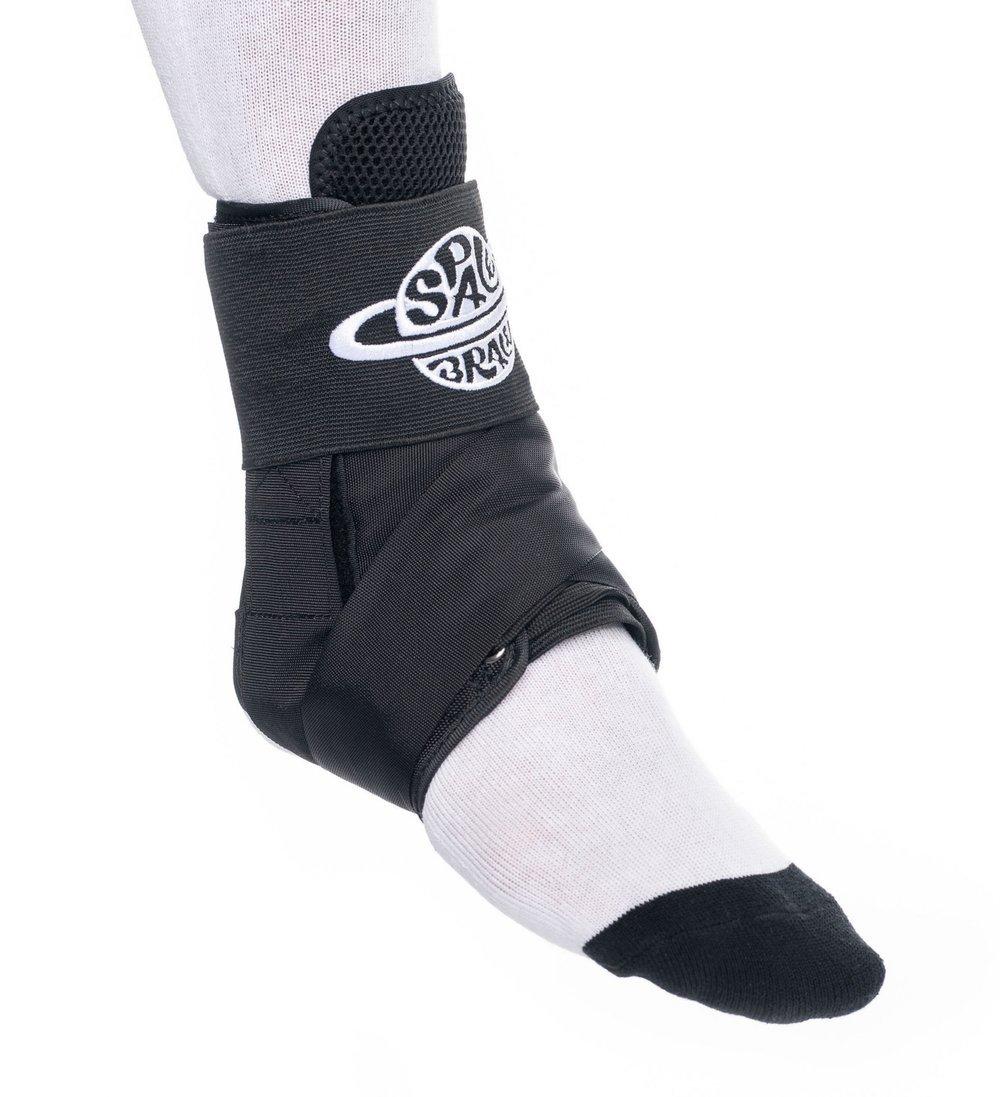 Space Brace Ankle Braces   Black
