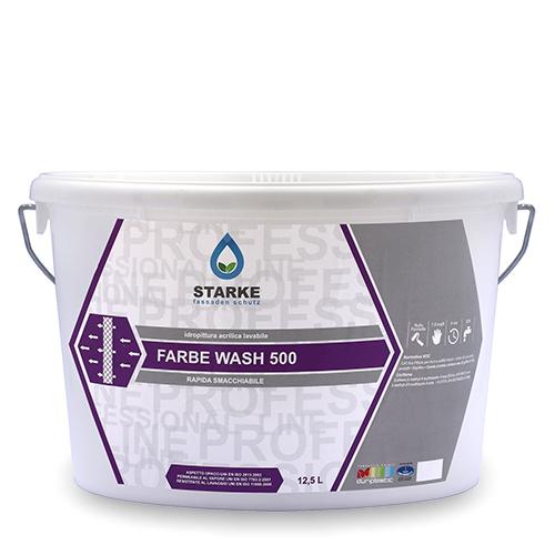 Idropittura Acrilica Lavabile STARKE Faber Wash 500 12.5lt