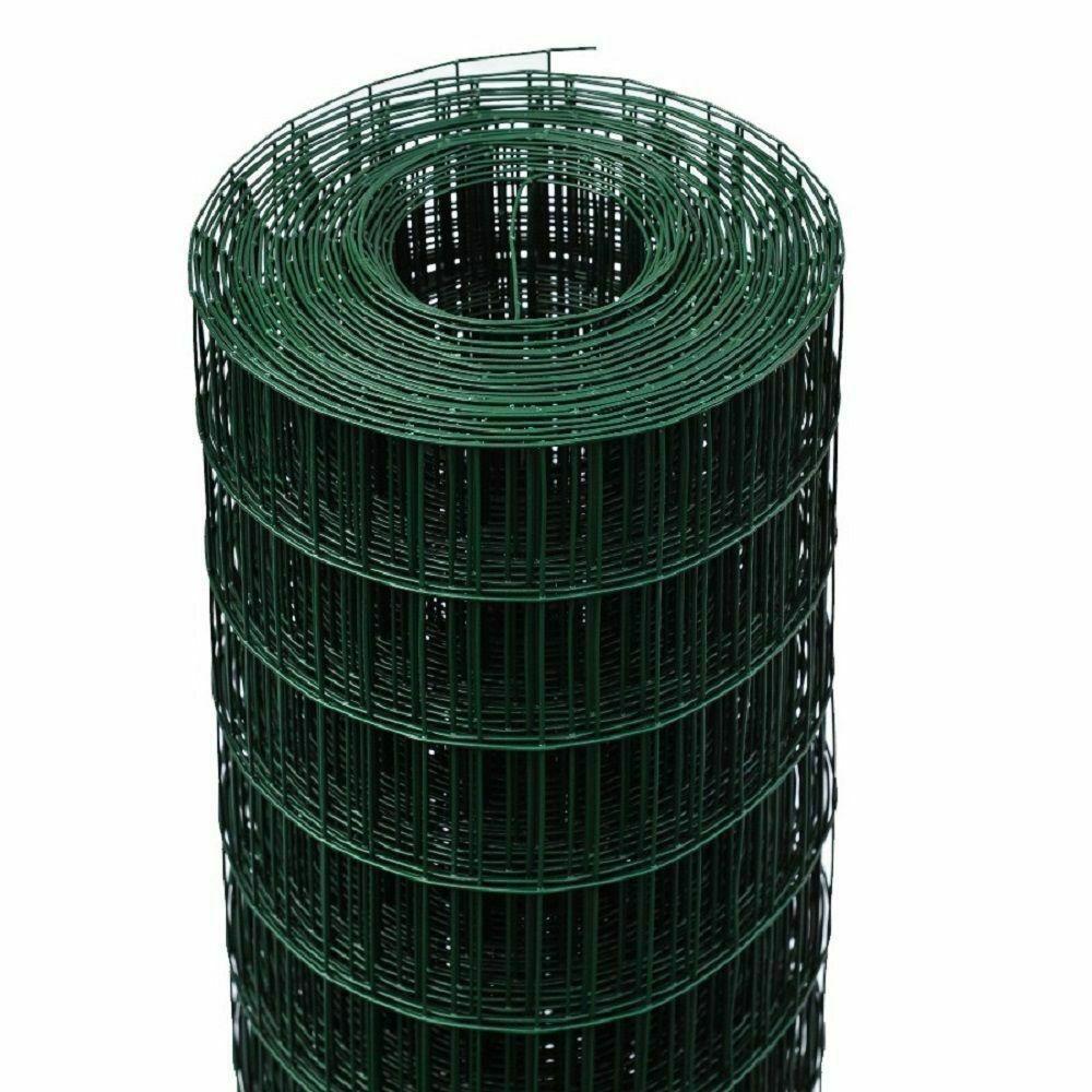 RETE RECINZIONE ELETTROSALDATA PLASTIFICATA MM 50X75 H 1,25X25ML