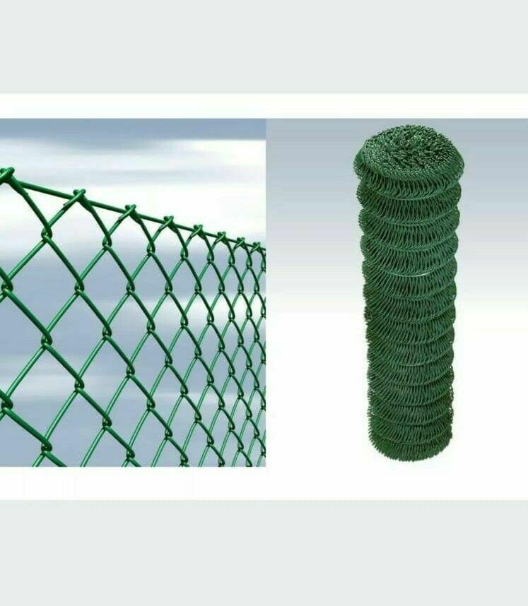 RETE RECINZIONE A MAGLIA SCIOLTA PLASTIFICATA MM 50X50 H 1,75X25ML
