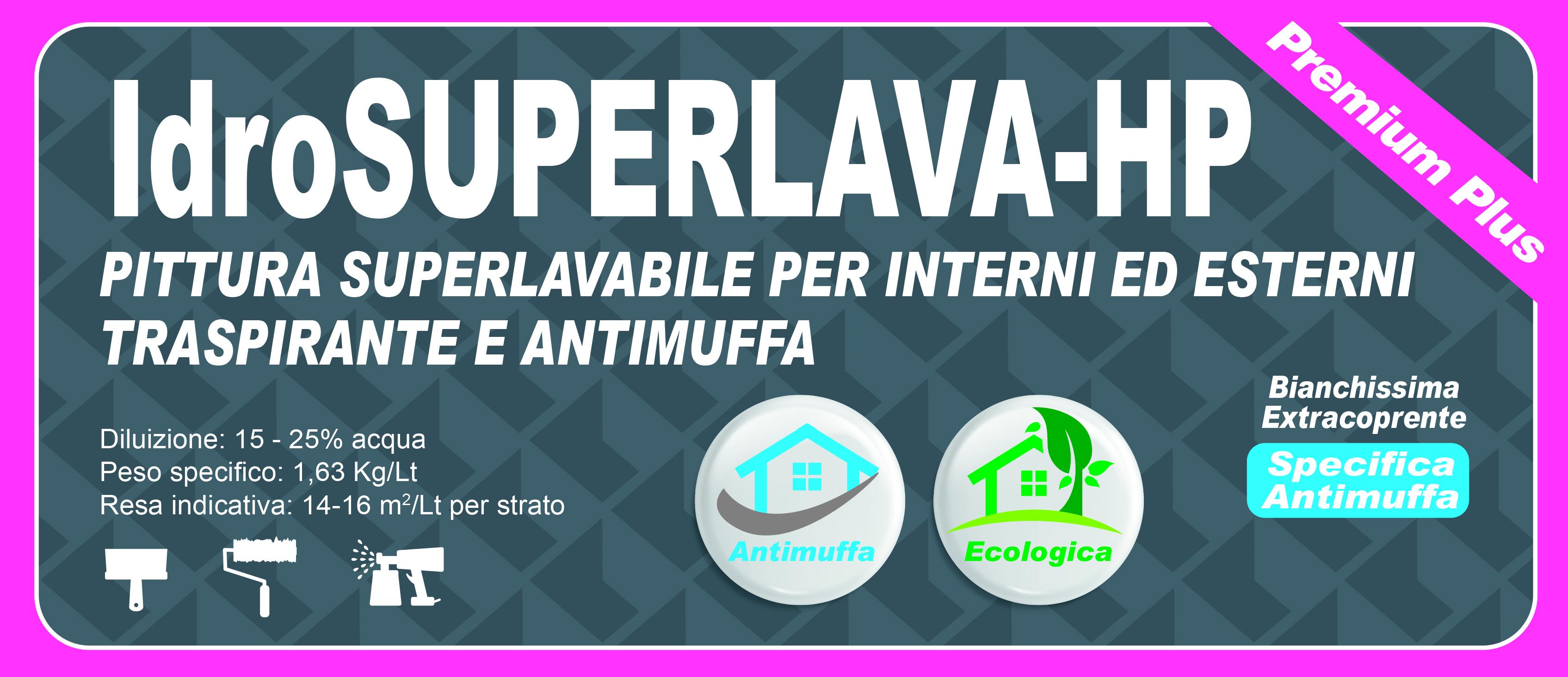 SUPERLAVABILE INT. EST. PREMIUM PLUS - IdroSUPERLAVA-HP 14 LT